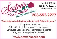 Sexton's Car Collection