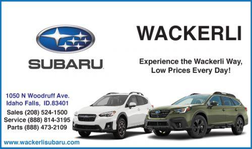 Wackerli Subaru - Click here for Inventory