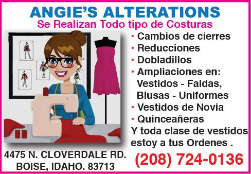 ANGIE'S ALTERATIONS