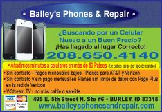 Bailey's Phones and Repair