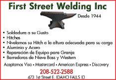 First Street Welding, Inc