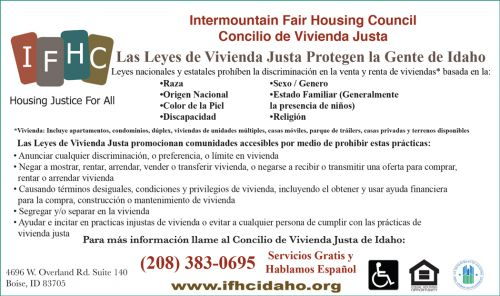 IFHC - Intermountain Fair Housing Council