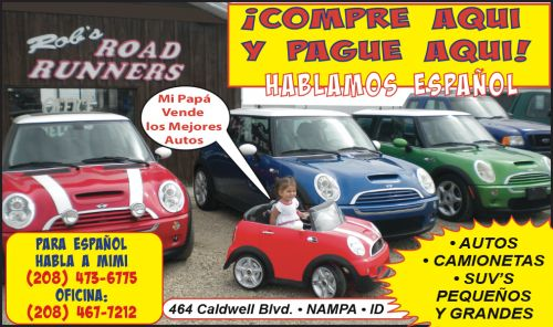 Rob's Road Runners • Used Cars and Trucks for Sale in Nampa Idaho