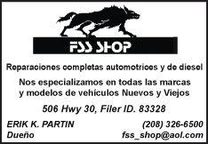 FSS Shop