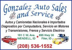Gonzalez Auto Sales and Service