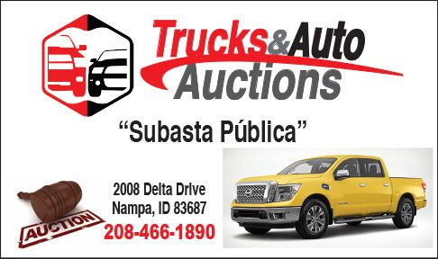 Trucks and Auto Auctions  - New and used cars and pickups for sale in Nampa ID
