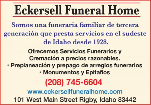 Eckersell Funeral