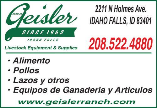 Geisler Livestock Equipment & Supplies