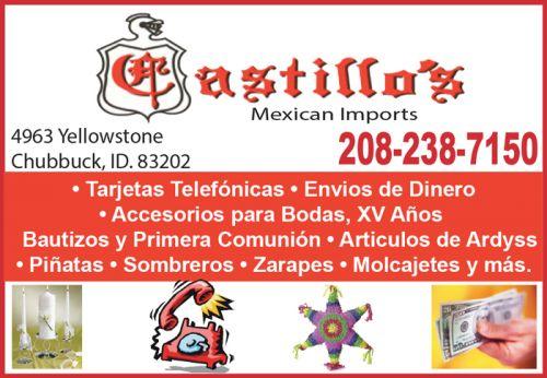 Castillo's Mexican Imports