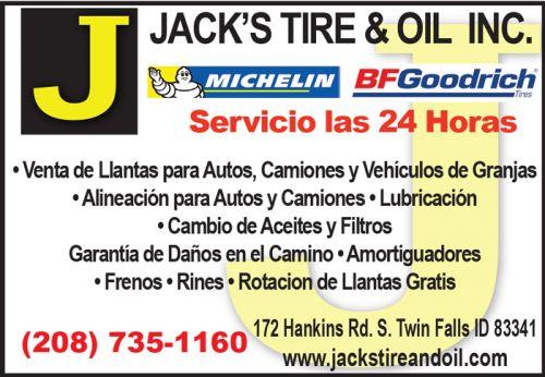 Jack's Tire & Oil, Inc.