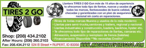 Tires 2 Go