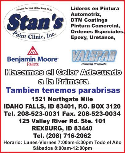 Stan's Paint Clinic Inc.