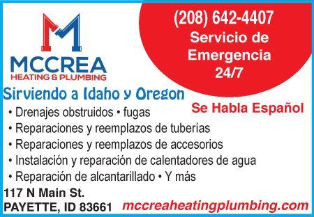 McCrea Heating and Plumbing - Plomeros