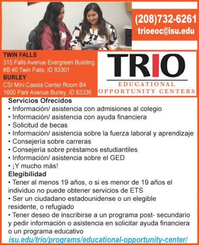 TRIO - Educational Opportunity Centers