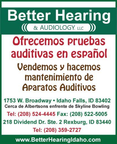 Better Hearing & Audiology LLC.
