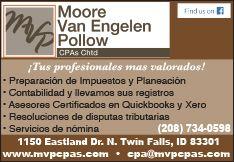 Moore - Van Engelen - Pollow CPAs Chtd.