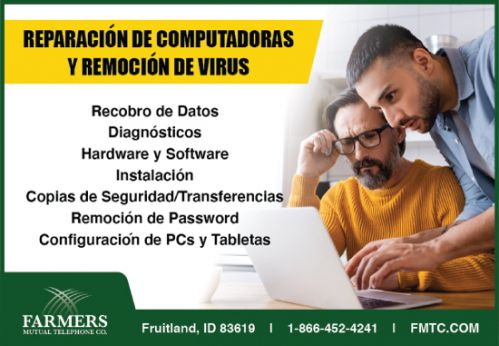 Farmers Mutual Telephone Co. / FMTC - Computadoras