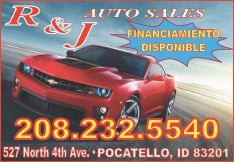 R & J Auto Sales - 150 used cars and trucks in Pocatello Idaho