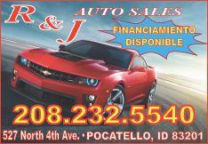 R & J Auto Sales
