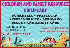 Children and Family Resource - Child care