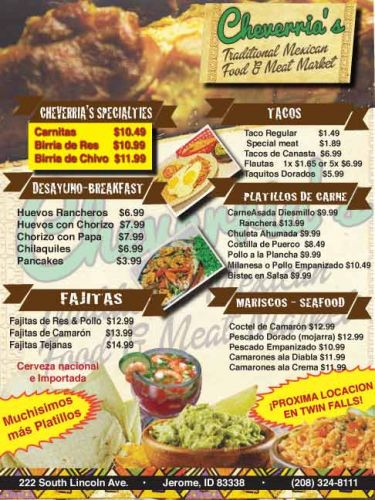 Cheverria's  Mexican Restaurant and Market