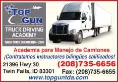 Top Gun Truck Driving Academy