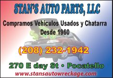 Stan's Auto Parts LLC.
