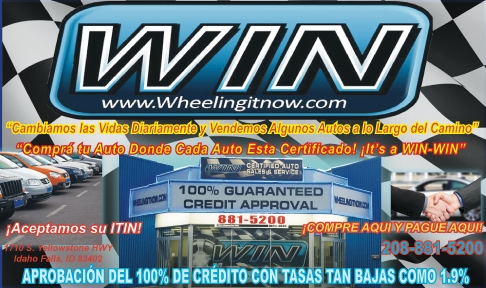 Win Auto Sales*Click here for Inventory>