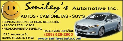 Smiley's Automotive - Buy Here Pay Here cars for sale in Idaho Falls ID