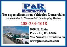 P & R Auto Sales - Northwest's best selection of work trucks Pocatello Idaho