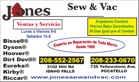 Jones Sew & Vac