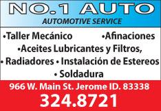 No. 1 Auto