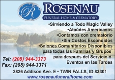 Rosenau Funeral