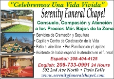 Serenity Funeral Chapel