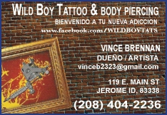 Wild Boy's Tattoo