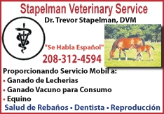 Stapelman Veterinary Service