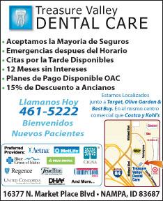 Treasure Valley Dental Care