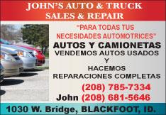 John's Auto & Truck Sales & Repair