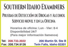 Southern Idaho Examiners