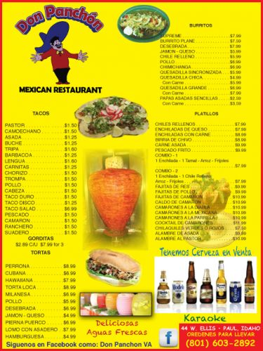 Don Panchon Mexican Restaurant