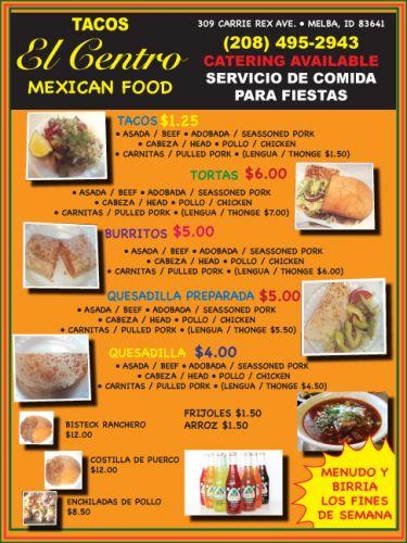 Tacos El Centro