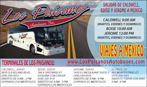 Los Paisanos Autobuses