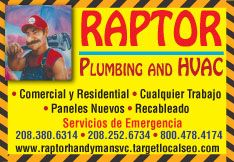 Raptor Plumbing and HVAC
