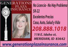 Generations Plaza Insurance