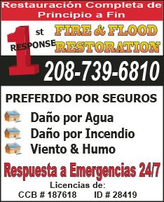 1st Response Fire and Flood Restoration