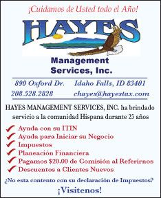 Hayes Management Services Inc.