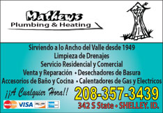 Mathew's Plumbing & Heating