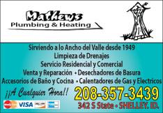 Mathew's Plumbing & Heating