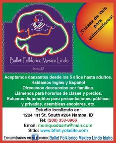 Ballet Folkloríco México Lindo