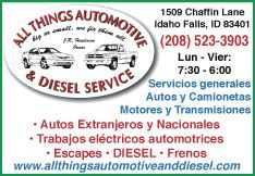 All Things Automotive & Diesel Service